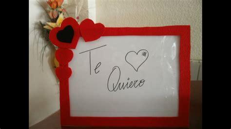 Cómo decorar un marco de fotos para San Valentín ...