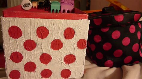 Como decorar una caja de cartón •  Fácil     YouTube