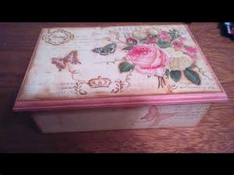Como Decorar una Caja Estilo Vintage   Hogar Tv por Juan ...