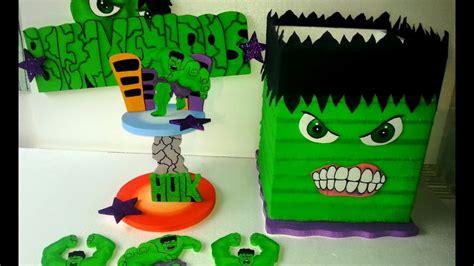 como decorar una fiesta infantil de hulk   YouTube