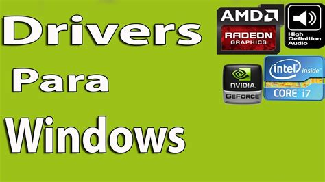 Como Descargar Drivers para Windows 10 Gratis   YouTube
