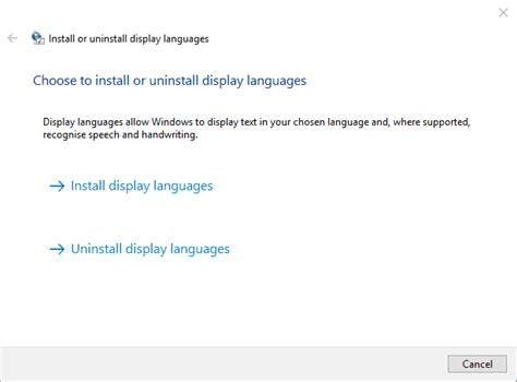 Cómo descargar e instalar paquetes MUI para Windows 10 ...