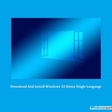 Cómo descargar e instalar Windows 10 Home Single Language ...