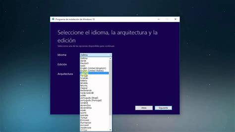 Como Descargar e Instalar Windows 10 Pro En Español 32 y ...