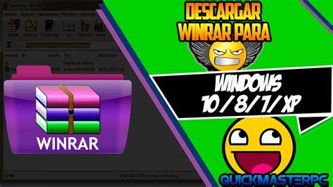 Como Descargar e Instalar Winrar Full en Español Para ...