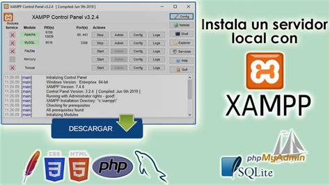 Como descargar e instalar XAMPP | Windows 7,8,10   YouTube