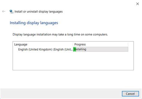 ¿Cómo descargar el paquete de idioma Windows 10? 2019