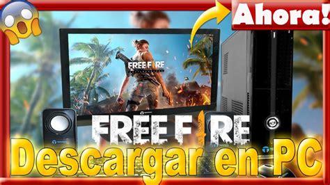 Como Descargar FREE FIRE para PC sin Lag Memu   YouTube