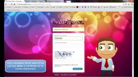 Como descargar temas gratis wordpress, joomla, flash ...