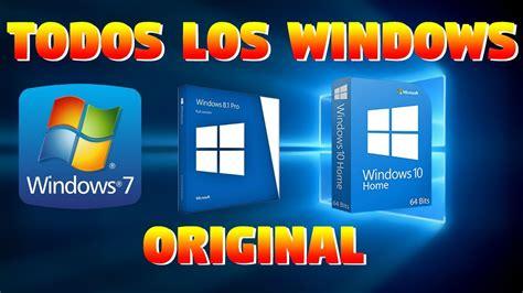 COMO DESCARGAR WINDOWS 7, 8, 8.1,10 GRATIS Y LEGAL  2020 ...