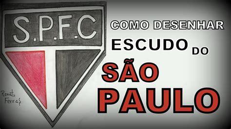 Como desenhar o ESCUDO DO SÃO PAULO   YouTube