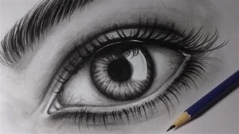 Como desenhar um olho realista  How to draw realistic eye ...