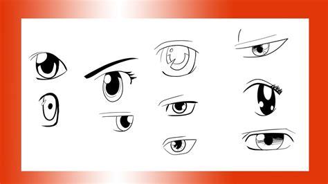 Como Dibujar 10 Tipos De Ojos | 003 Dibujo #Manga   YouTube