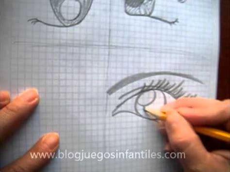 Como dibujar 4 tipos diferentes de ojos anime   YouTube
