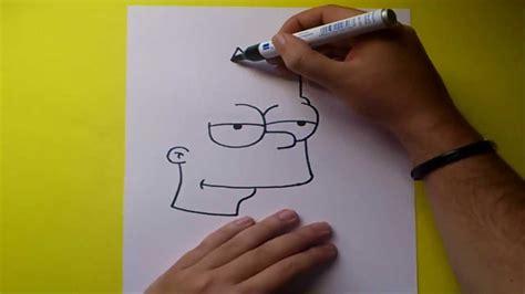 Como dibujar a Bart simpson paso a paso   Los Simpsons ...