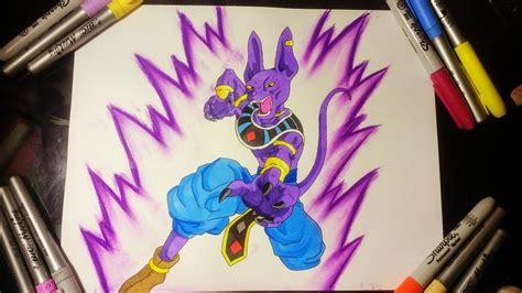 Como dibujar a Bills Dios destructor del universo 7 How to ...