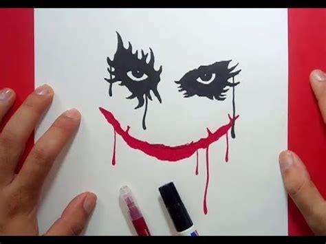 Como dibujar a el Joker paso a paso 2   Batman   How to ...