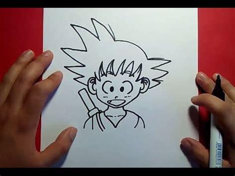 Como dibujar a Goku paso a paso   Dragon ball   How to ...