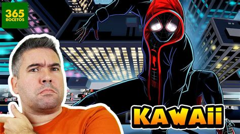 COMO DIBUJAR A SPIDERMAN DE UN NUEVO UNIVERSO KAWAII   YouTube