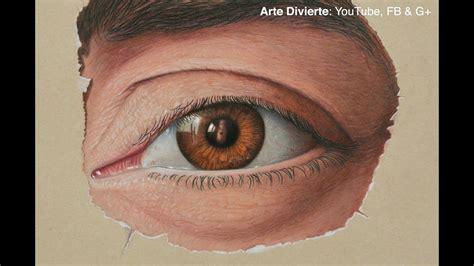 Cómo dibujar el ojo de Marcello Barenghi   Ojo realista ...