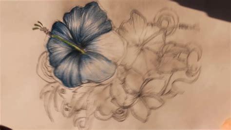 como dibujar flores a color   YouTube