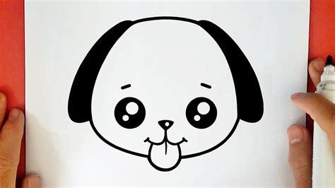 Cómo dibujar La Cara De Un Perro 】 Paso a Paso Muy Fácil ...