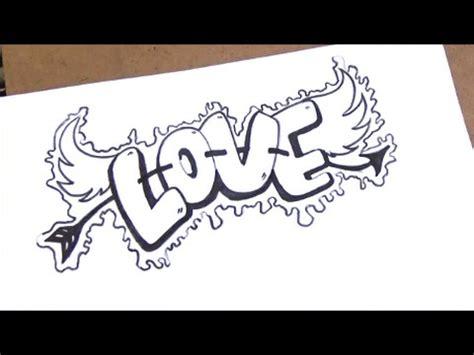 como dibujar love con estilo | como dibujar love paso a ...