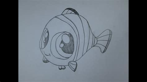 Cómo dibujar Nemo de Buscando a Nemo   YouTube