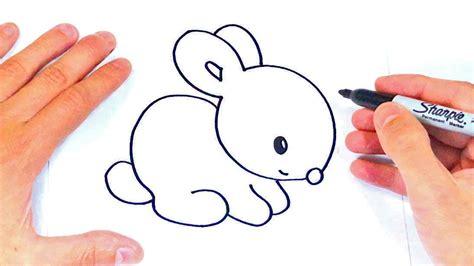 Cómo dibujar un Conejito Paso a Paso   Dibujos Fáciles ...