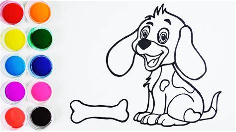 Cómo Dibujar un Perrito   Arte y Color Para Niños   Learn ...