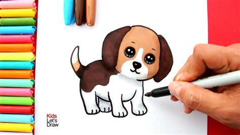 Cómo dibujar Un Perrito Estilo Cute 】 Paso a Paso Muy ...