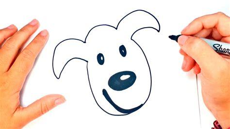 Cómo dibujar un Perro para niños   Dibujo de Perro paso a ...