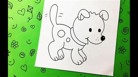 Cómo Dibujar Un Perro Paso a Paso  Fácil y Rápido  | How ...
