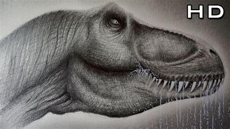 Cómo Dibujar un Tiranosaurio Rex Realista Paso a Paso ...