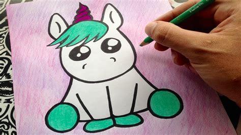 como dibujar un unicornio   how to draw a unicorn   como ...