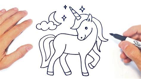Cómo dibujar un Unicornio Paso a Paso | Dibujo de ...