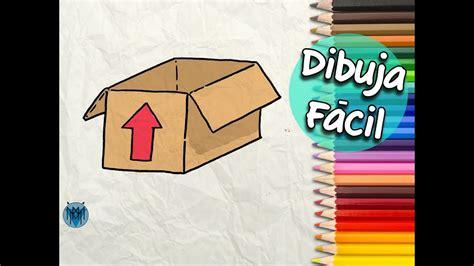 Cómo Dibujar una Caja de Cartón Fácil | Dibustrador Art ...