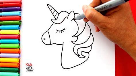 Cómo dibujar y pintar un UNICORNIO Kawaii  Muy Fácil ...