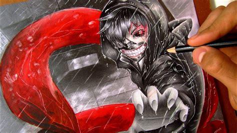 Como dibujo a KANEKI KEN   Tokyo Ghoul   How to Draw ...