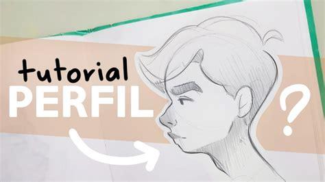 COMO DIBUJO ROSTROS DE PERFIL  Tutorial!!   YouTube