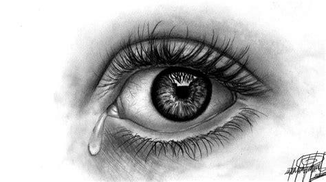 Como Dibujo un ojo realista HD   Drawing an eye   HD 60 ...