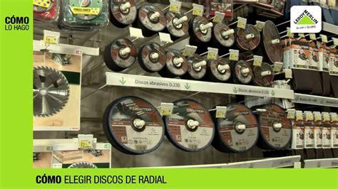 Cómo elegir discos de radial · LEROY MERLIN   YouTube