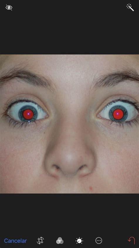 Cómo eliminar ojos rojos en iPhone y iPad