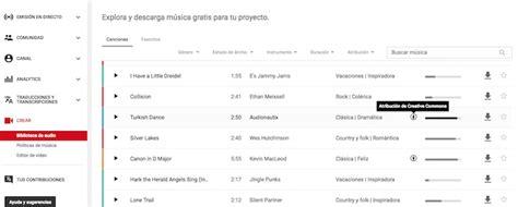 Cómo encontrar música gratis para tu canal de YouTube ...