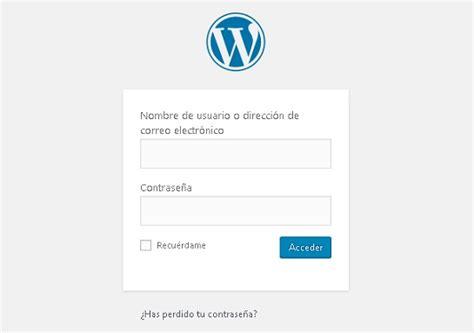 ¿Cómo entrar a mi blog ya creado en Wordpress?   Blog de ...