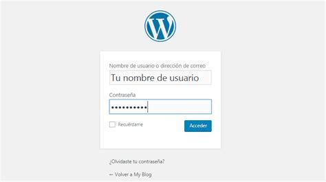 Cómo entrar a mi WordPress a través de wp admin o cPanel ...