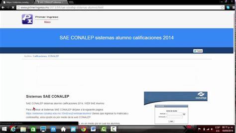 como entrar al portal conalep  SAE  by Dakner   YouTube