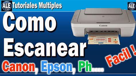 Como Escanear Fotos Y Documentos | Escanear En Cualquier ...