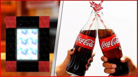 COMO FAZER UM PORTAL PARA O MUNDO DA COCA COLA   Coca Cola ...