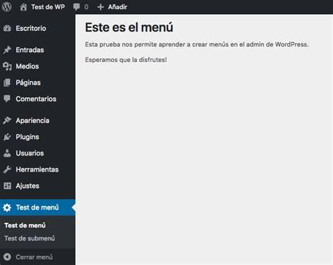 Cómo generar opciones para nuestro plugin en el admin de ...